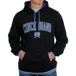 Cinch Men's Black Cinch Brand Fleece Hoodie