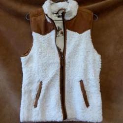 Cruel Ladies Sherpa Fleece Line Vest