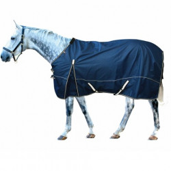 Century Ultra 1200D Summer Turnout Rain Sheet With Easy Move Gusset Navy