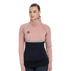 Horseware Ireland Ladies Nova High Neck Misty Rose Sweatshirt