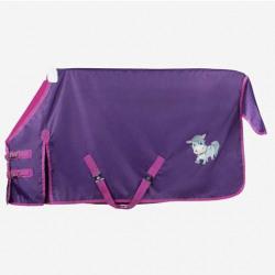 Horze Molly Pony 600d Lightweight Turnout Sheet Purple