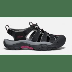 Keen Ladies Newport H2 Black Raspberry Wine Sandals
