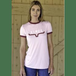 Kimes Ladies Tech T Shirt Blush