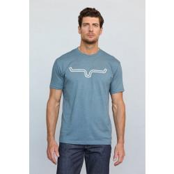 Kimes Men's Outlier Tee Shirt Indigo