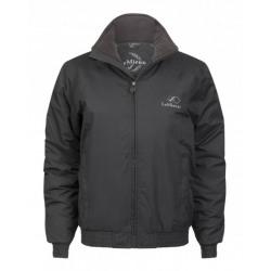 LeMieux Team Waterproof Crew Jacket Grey