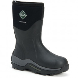 Muck Boots Men's Artic Sport Mid Black