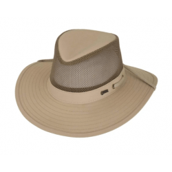 Outback River Guide With Mesh Hat Sand