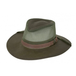 Outback Traders Sage Kodiak With Mesh Hat