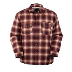 Outback Trading Men's Arden Black Plaid Jacket Shirt