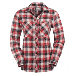 Outback Trading Payton Red Plaid Shirt