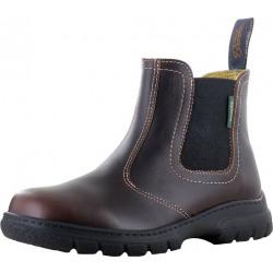 Paul Brodie Ladies Maddy Saddle Brown Boots