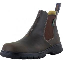 Paul Brodie Men's Quinton Crazy Horse Brown Boots