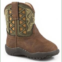 Roper Infant Askook Green Western Boots