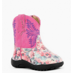 Roper Infant Claire Glitter Pink Western Boots