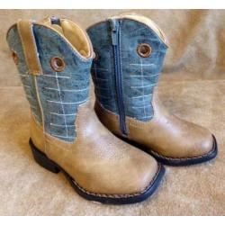 Roper Toddler Wild Bill Brown Western Boots