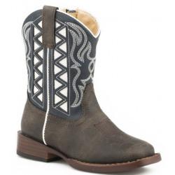 Roper Toddler Askook Western Boots Blue