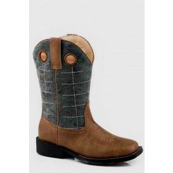 Roper Kids Wild Bill Brown Western Boot