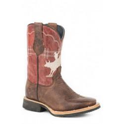 Roper Kids Bull Rider Western Boots