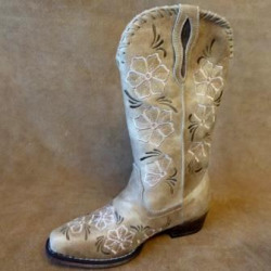 Roper Ladies Riley Whip Tan Western Boots