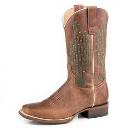 Roper Ladies Cactus Americana Western Boot