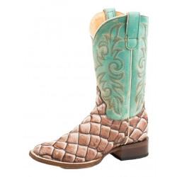Roper Ladies Diesel Tan Western Boots