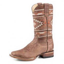 Roper Ladies Fiesta Brown Leather Western Boots