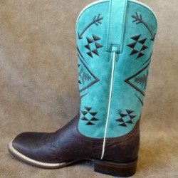 Roper Ladies Ruby Brown Cowboy Boot