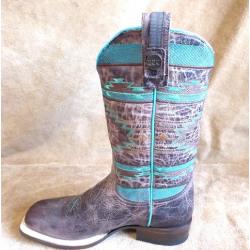 Roper Ladies Mesa Brown Cowboy Boots