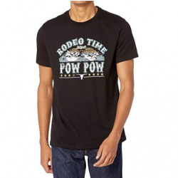 Roll & Roll Dale Brisby Rodeo Time Black Logo T Shirt