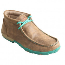 Twisted X Ladies Turquoise Driving Bomber Shoe