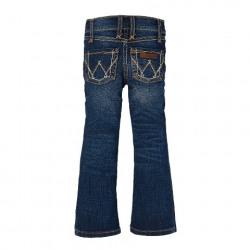 Wrangler Girls Boot Cut Medium Blue Jean