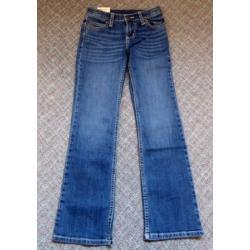 Wrangler Girls Premium Patch Bootcut Jeans