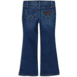 Wrangler Girls Stacie Medium Wash Bootcut Jeans
