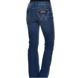 Wrangler Ladies Mae Mid Rise Retro Jean