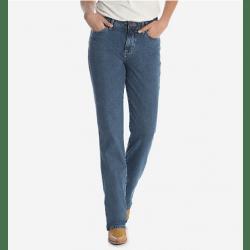 Wrangler Ladies Cowboy Cut High Rise Stretch Jeans