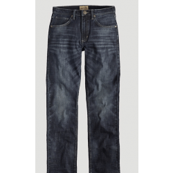 Wrangler Boy's Toddler 20X Slim Fit Straight Leg Jean Steel (Size Kids 8 to 20)