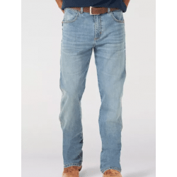 Wrangler Men's Slim Boot Eagleton Retro Green Jean