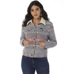 Wrangler Ladies Retro Wool Premium Navajo Jacquard Jacket