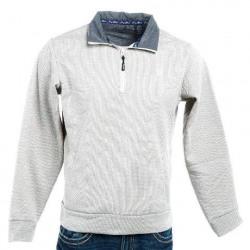 Wrangler Men's George Strait Khaki Knit Pullover