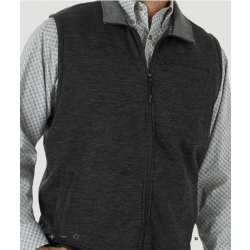 Wrangler Men's Grey Knit Vest