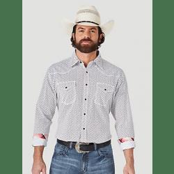 Wrangler Men's 20X Competition Advanced Comfort Long Sleeve Snap Shirt