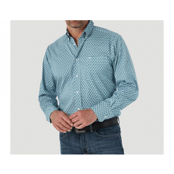 Wrangler Men's 20X Competition Performance Long Sleeve Button Western Shirt