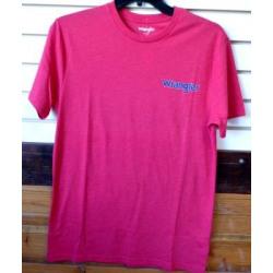 Wrangler Men's Red Logo T Shirt