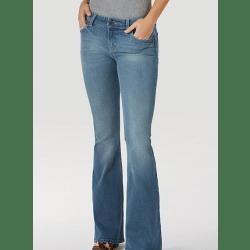 Wrangler Ladies Retro Mae Flare Jeans Gianna