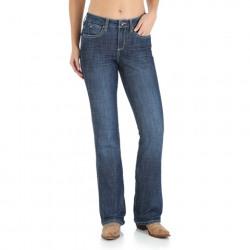 Wrangler Women's Aura Instantly Slimming Jean Medium Wash