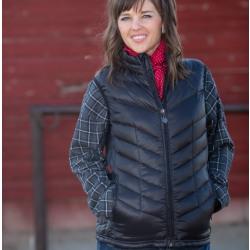 Wyoming Traders Ladies McKinley Vest Black