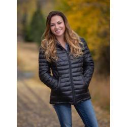 Wyoming Traders Ladies Stormy Down Jacket Black