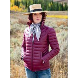 Wyoming Traders Ladies Stormy Down Jacket Plum