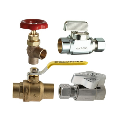 Supply Stop Valves - Solder & Compression