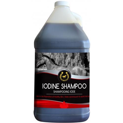 Iodine Shampoo 4L - Golden Horseshoe NN.W4R1   My Equine Store
